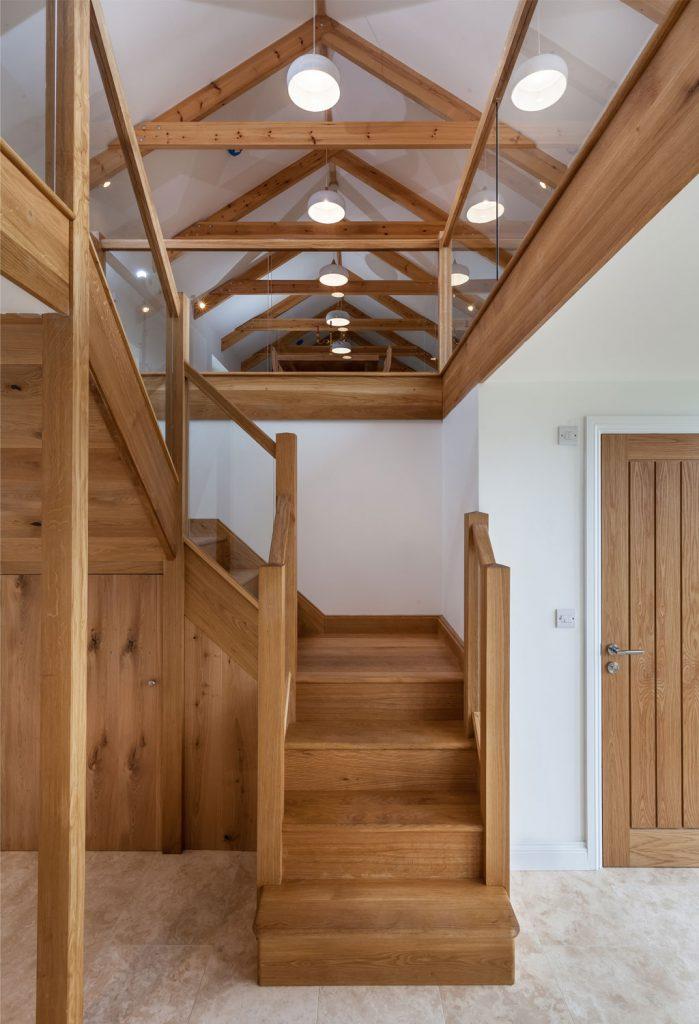 Tregilliowe Barn Interior Stairs 05